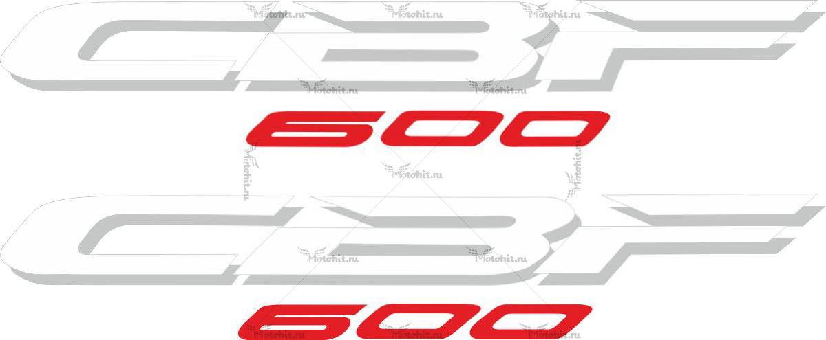 Наклейка Honda CBF-600