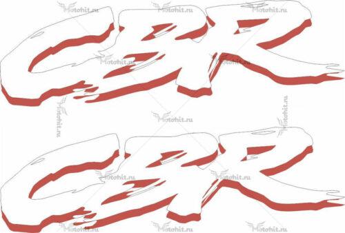Наклейка Honda CBR-3