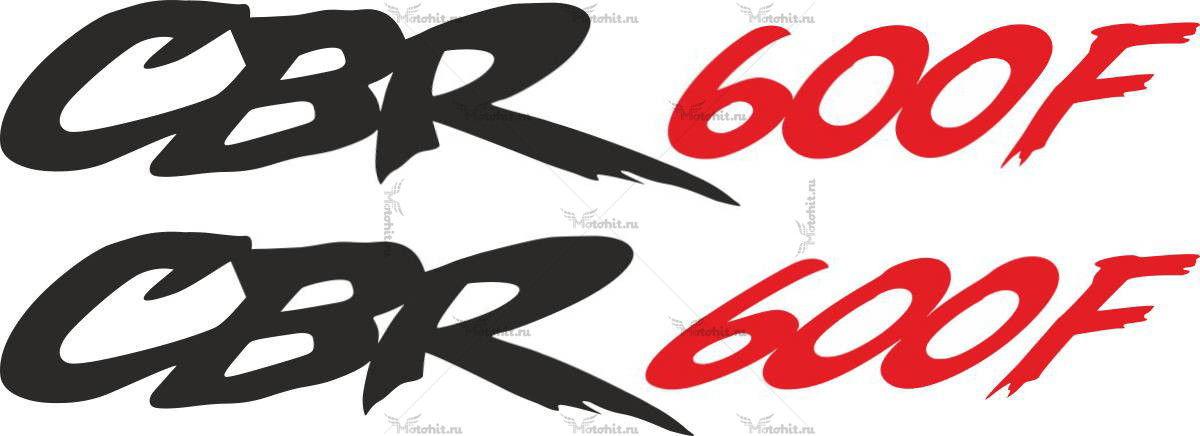 Наклейка Honda CBR-600-F-3