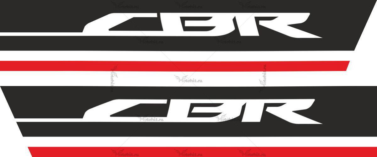 Наклейка Honda CBR-600-F-2011-2013
