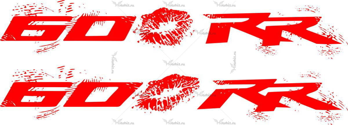 Наклейка Honda CBR-600-RR-KISS