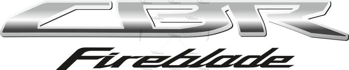 Наклейка Honda CBR-FIREBLADE-2009
