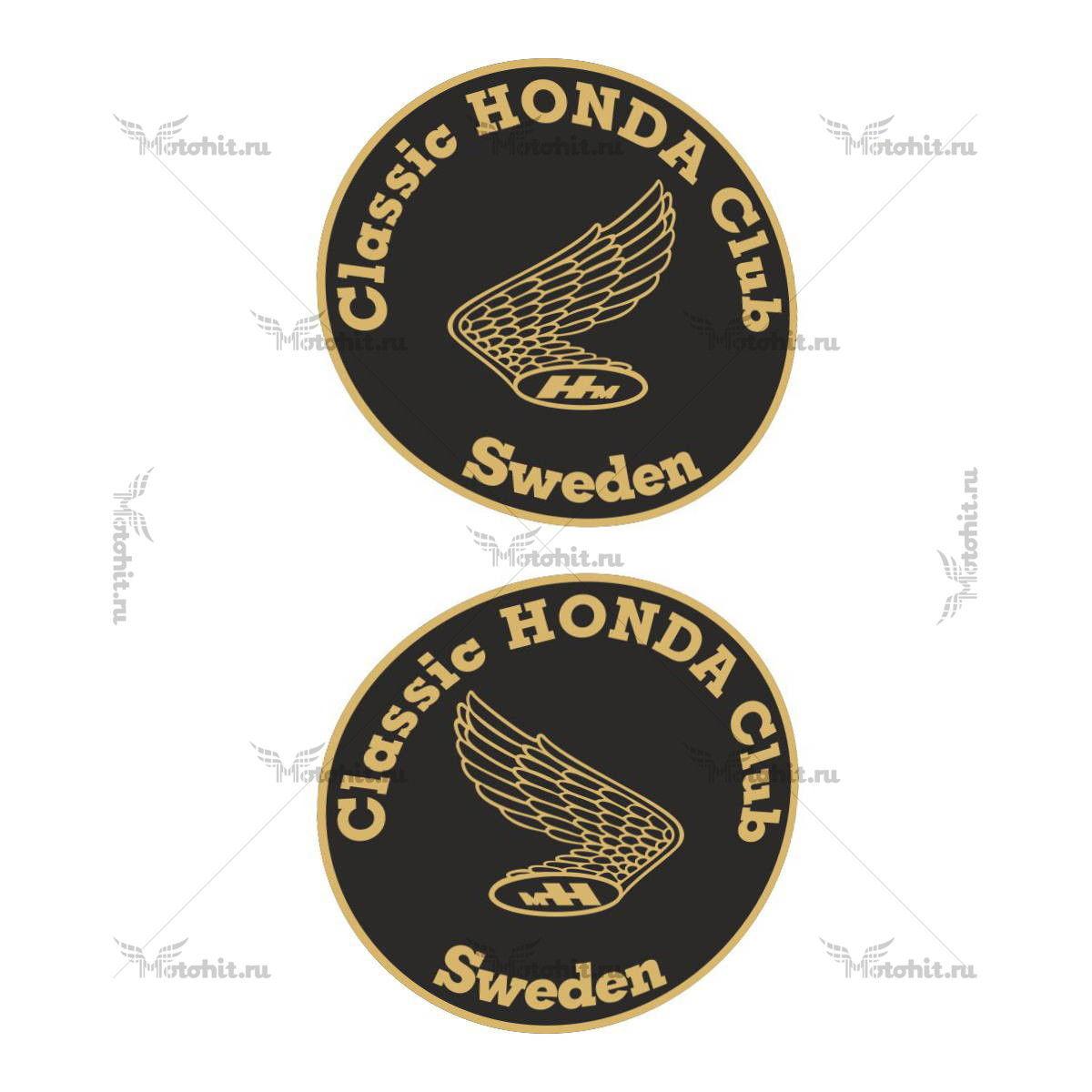 Наклейка Honda CLASSIC-CLUB