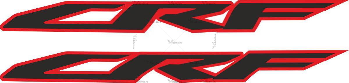 Наклейка Honda CRF-2009