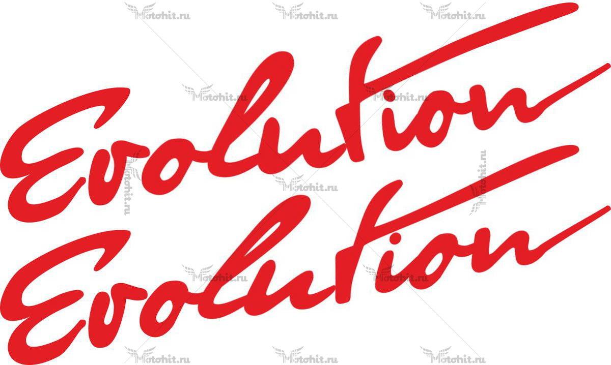 Наклейка Honda EVOLUTION