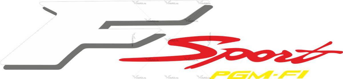 Наклейка Honda F-SPORT-PGM-F1