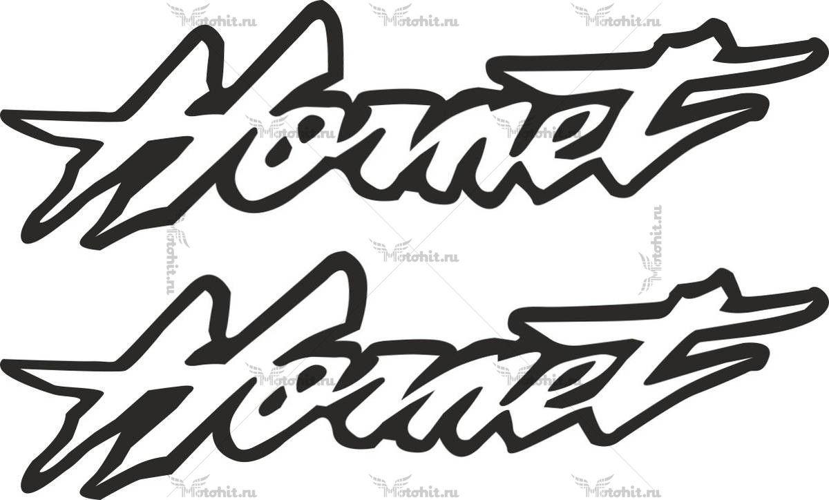 Наклейка Honda HORNET-2