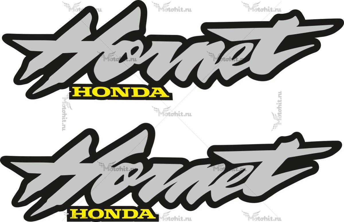 Наклейка Honda HORNET 1998 BLACK-SILVER
