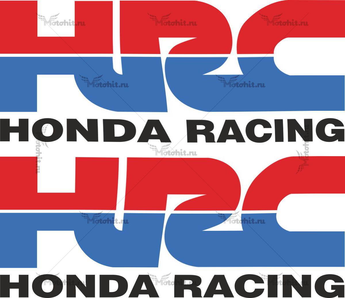 Наклейка Honda HRC-3