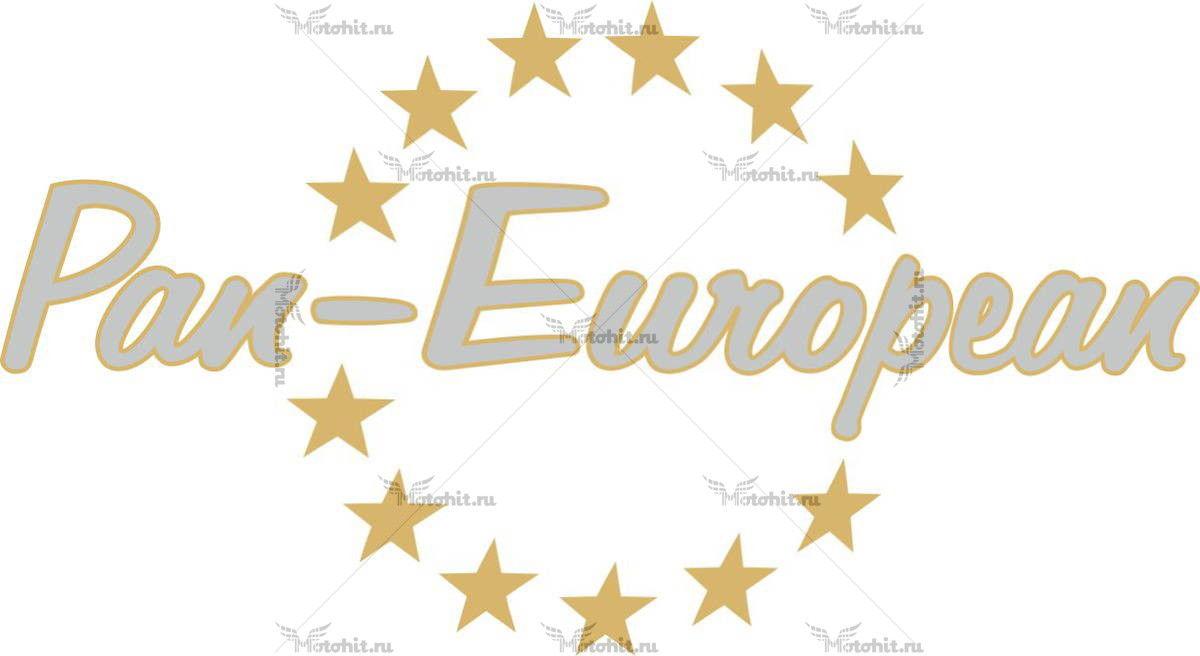 Наклейка Honda PAN-EUROPEAN