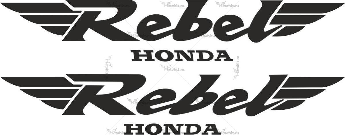 Наклейка Honda REBEL