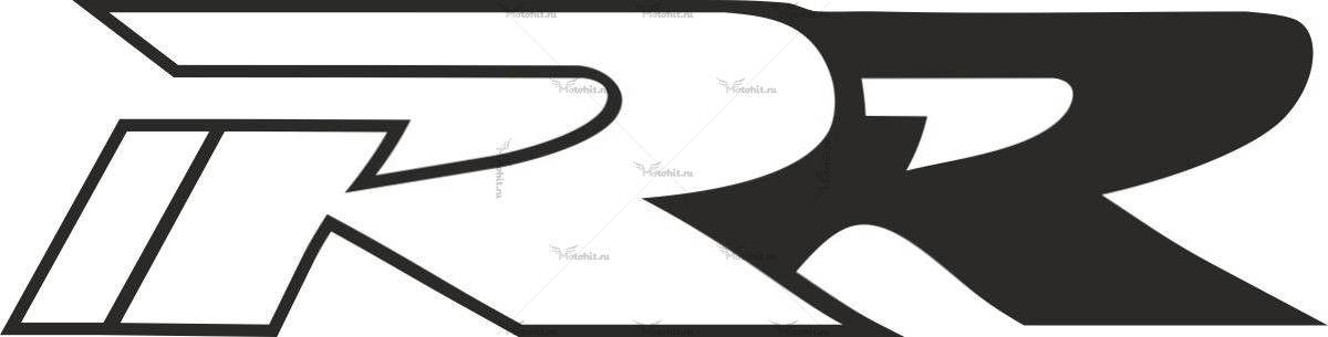 Наклейка Honda RR