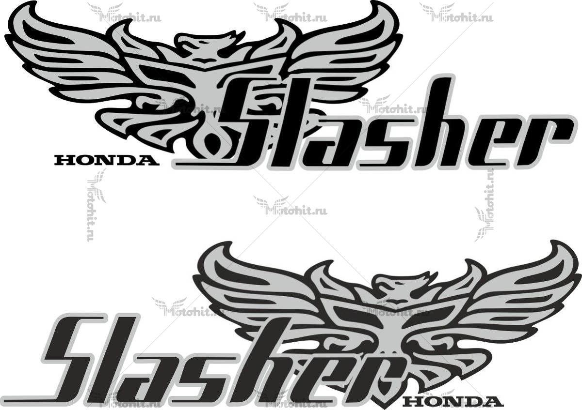 Наклейка Honda SLASHER