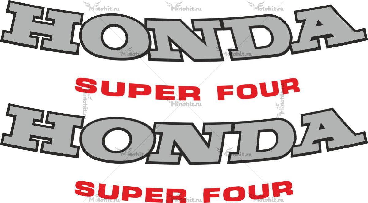 Наклейка Honda SUPER4