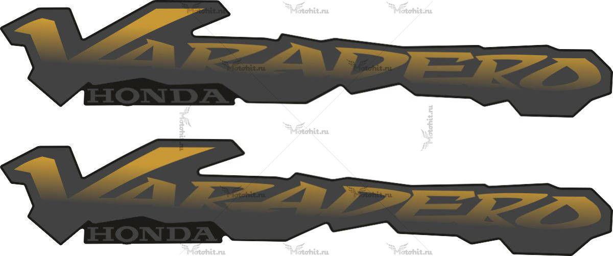 Наклейка Honda VARADERO