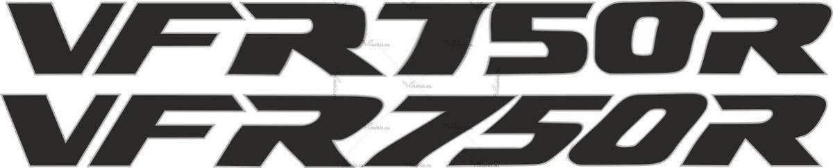 Наклейка Honda VFR-750-R