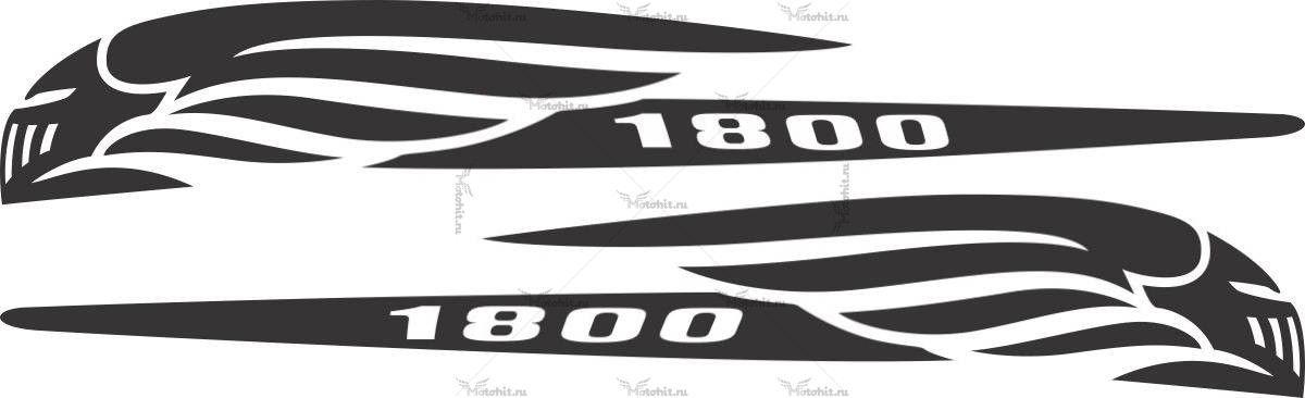 Наклейка Honda VTX-1800 PREDATOR