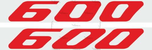 Наклейка Honda 600