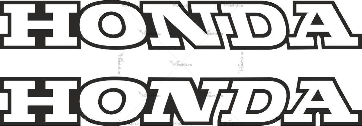 Наклейка Honda TXT 2-COLOR