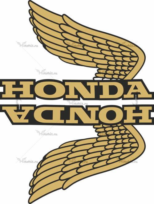 Комплект наклеек Honda WINGS-01