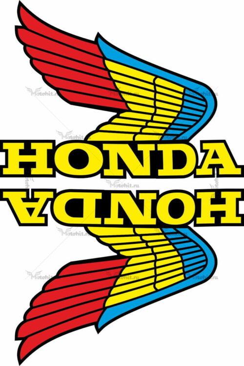 Комплект наклеек Honda WINGS-02