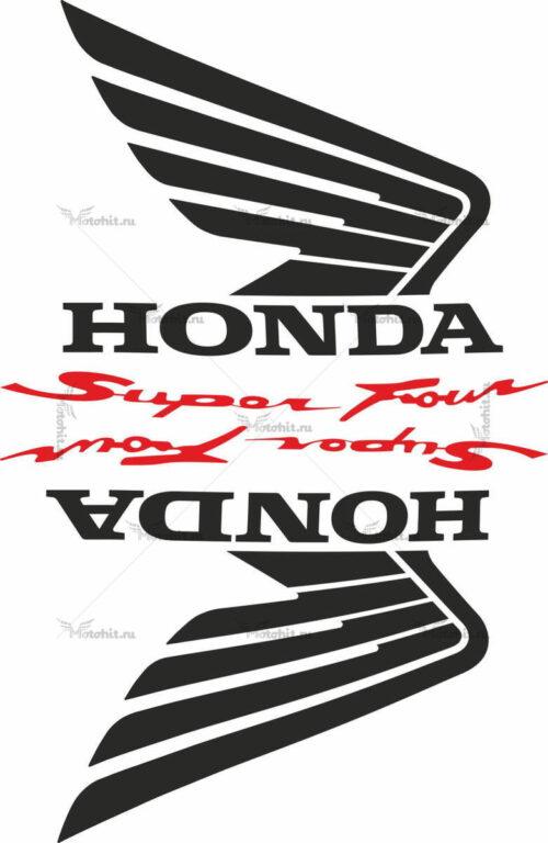 Комплект наклеек Honda WINGS-05