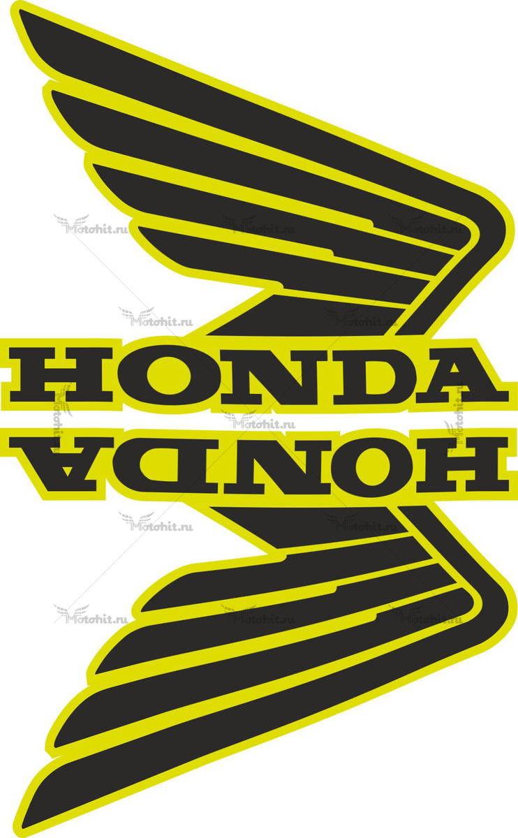 Комплект наклеек Honda WINGS-06