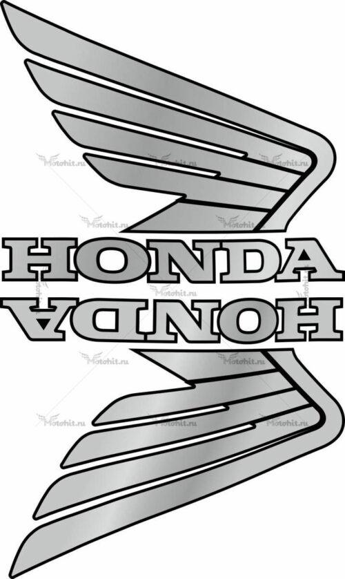 Комплект наклеек Honda WINGS-07