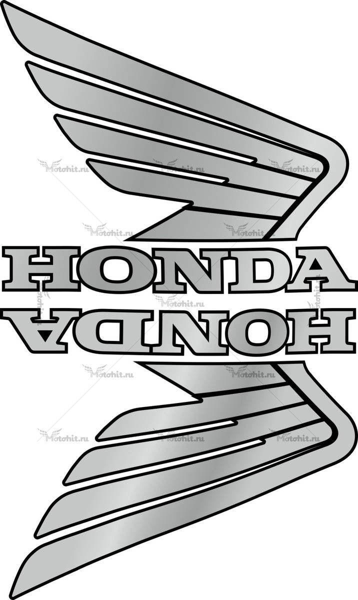 Комплект наклеек Honda WINGS-07