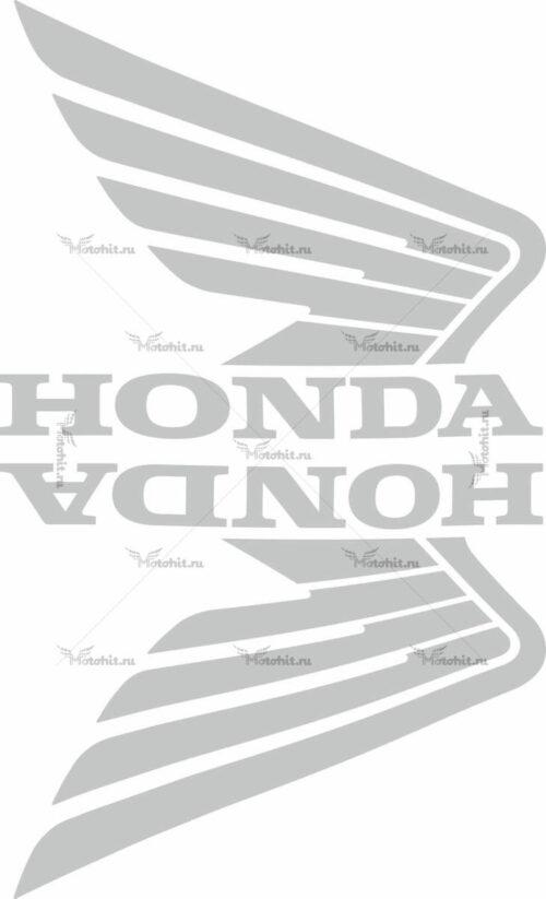 Комплект наклеек Honda WINGS-08