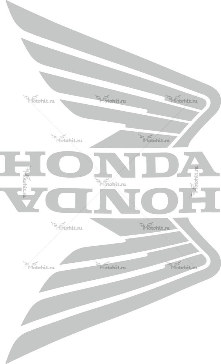 Комплект наклеек Honda WINGS-08