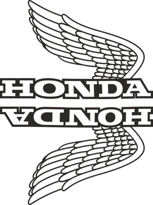 Комплект наклеек Honda WINGS-11