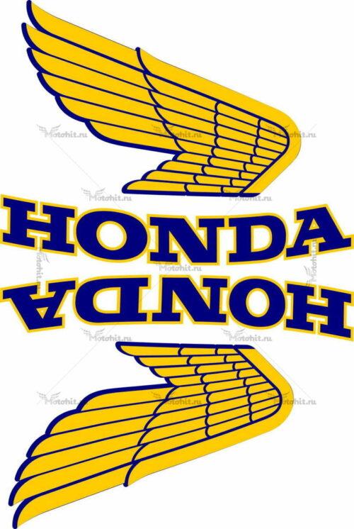 Комплект наклеек Honda WINGS-12