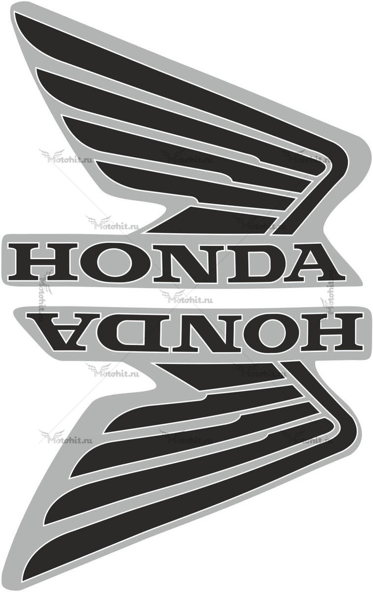 Комплект наклеек Honda WINGS-13