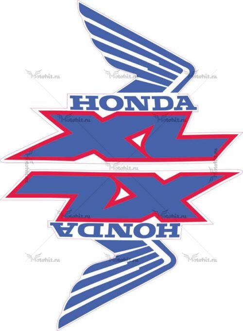 Комплект наклеек Honda WINGS-14