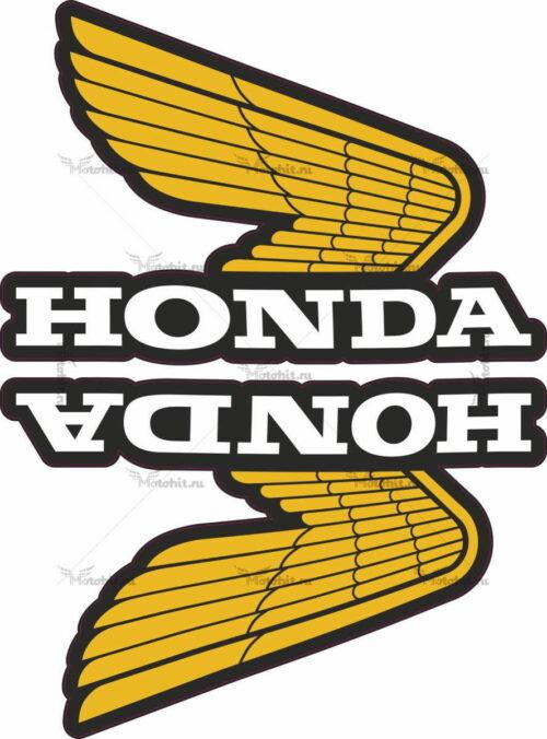 Комплект наклеек Honda WINGS-16