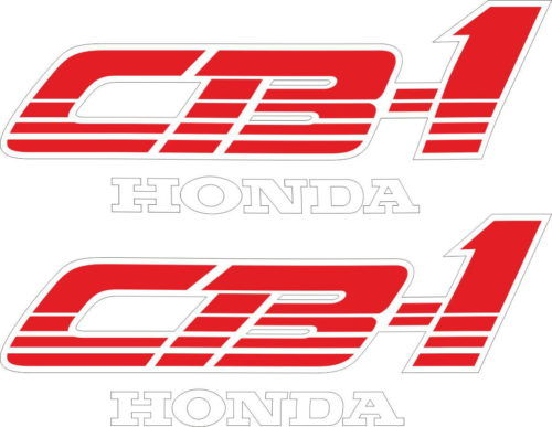 Комплект наклеек Honda CB-1 1989-1991 RED