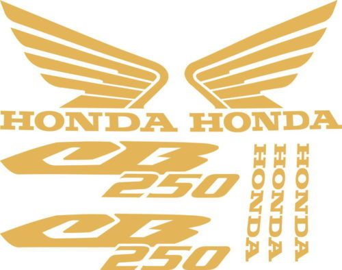 Комплект наклеек Honda CB-250