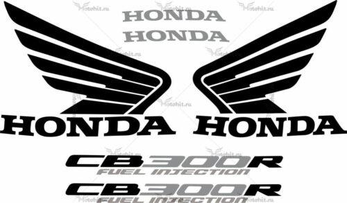 Комплект наклеек Honda CB-300-R 2009-2010