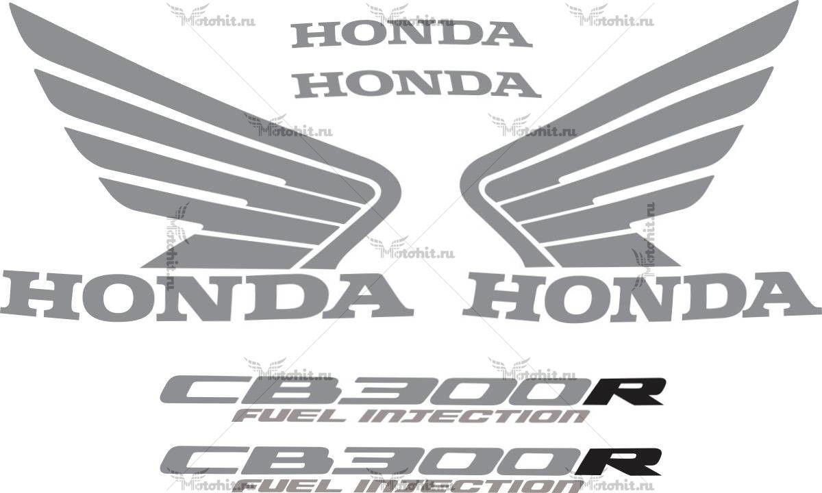 Комплект наклеек Honda CB-300-R 2011