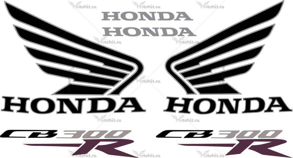 Комплект наклеек Honda CB-300-R 2013