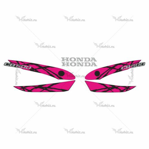 Комплект наклеек Honda CB-500 1994-1995 PINK