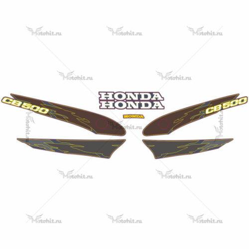 Комплект наклеек Honda CB-500 1996-1997