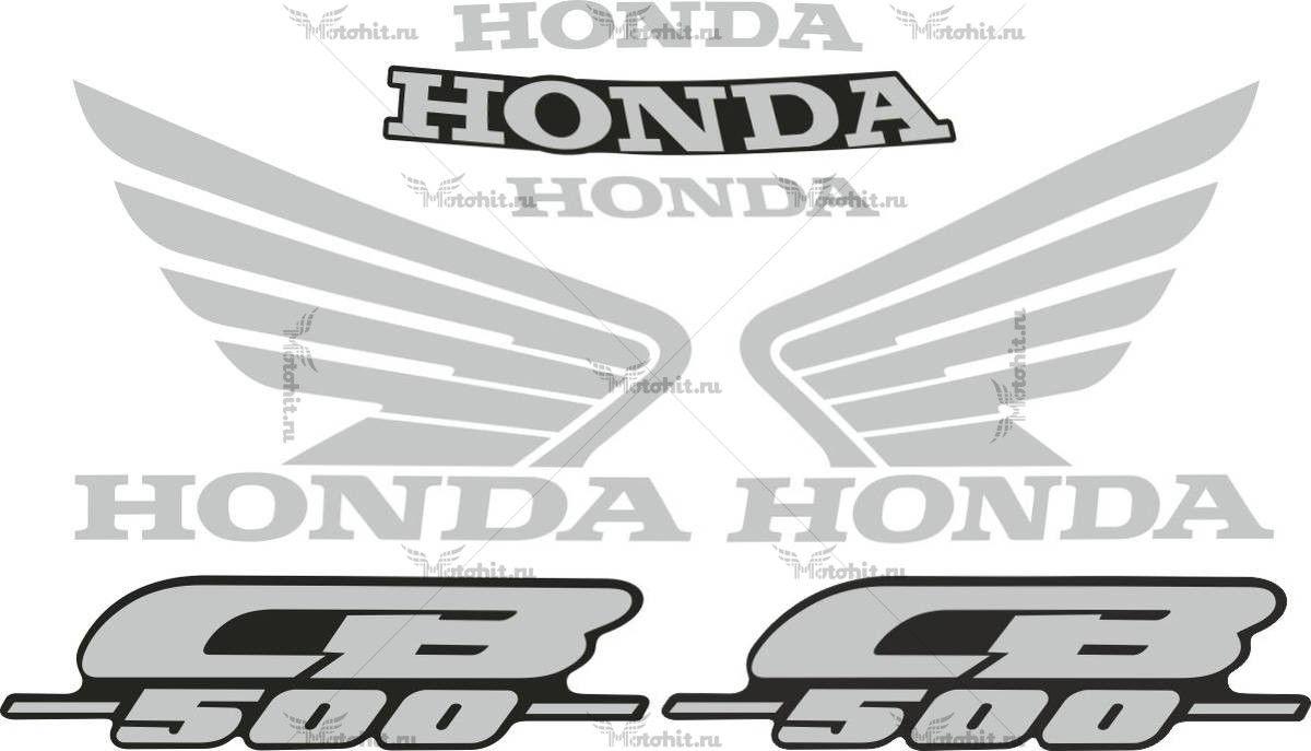 Комплект наклеек Honda CB-500 2000-2005