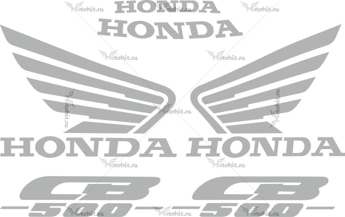 Комплект наклеек Honda CB-500-S 1997-2003