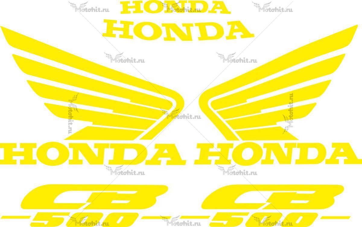 Комплект наклеек Honda CB-500-Е 1993-2003