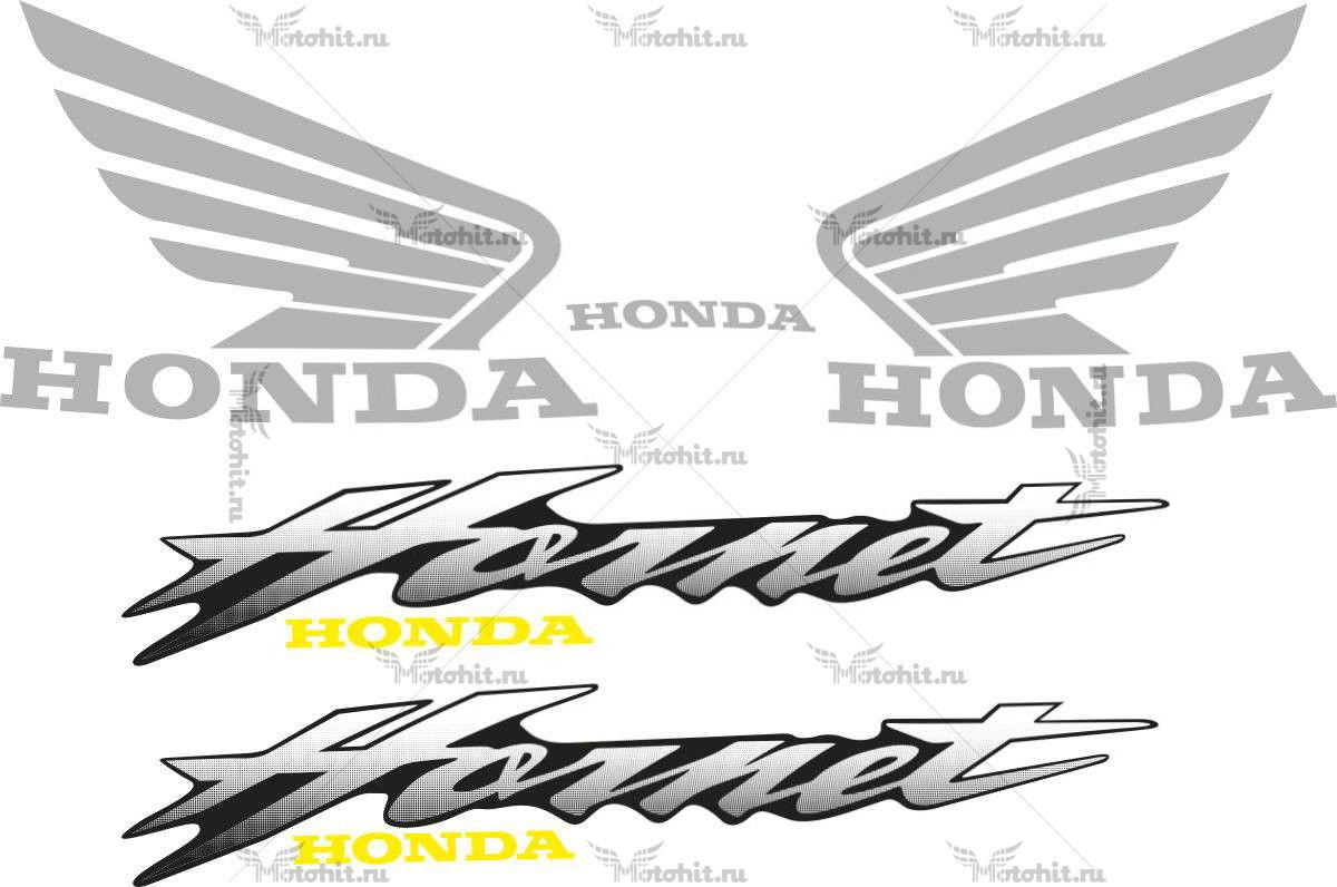 Комплект наклеек Honda CB-600-F HORNET 1999