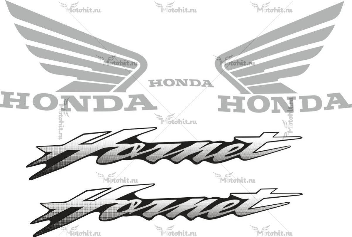 Комплект наклеек Honda CB-600-F HORNET 2000-2004
