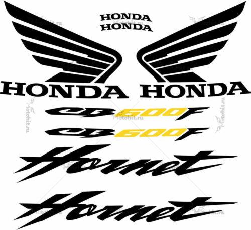Комплект наклеек Honda CB-600-F HORNET 2006