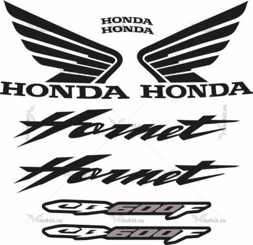 Комплект наклеек Honda CB-600-F HORNET 2007